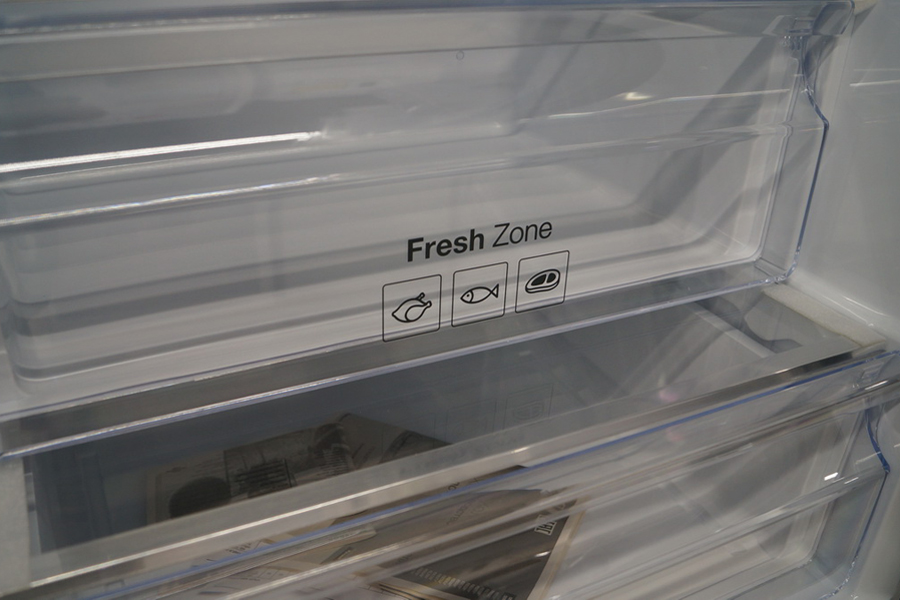 Зона повышенной влажности в холодильнике