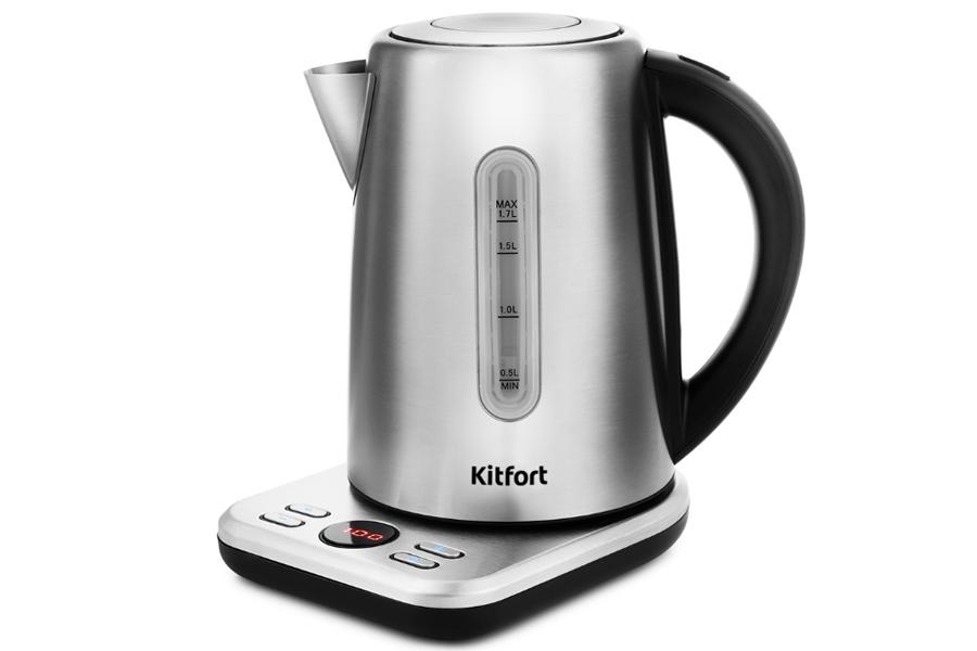 Чайник объемом 1,7 литра KITFORT