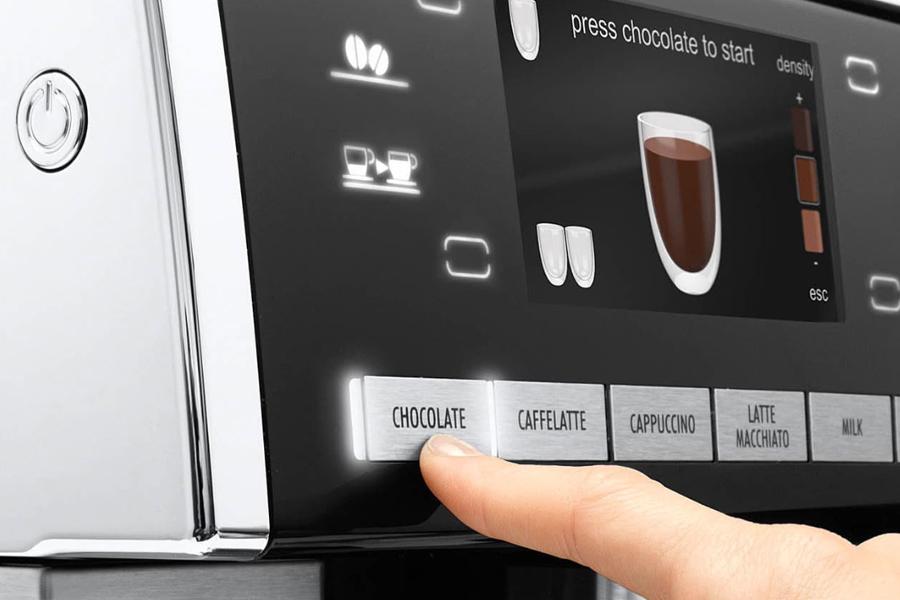 Кофемашина DELONGHI с комбинированным управлением