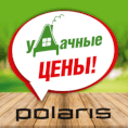 Удачная Дача с бытовой техникой POLARIS!